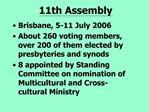 11th Assembly