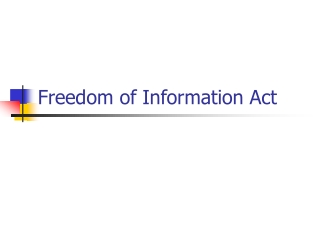 The Privacy Act of 1974: