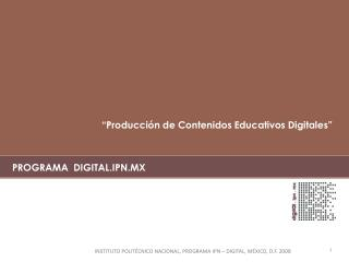 PROGRAMA  DIGITAL.IPN.MX