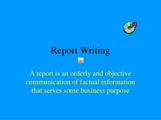 Report Writing