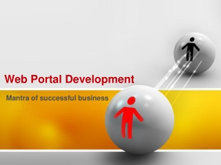 Web Portal Development - Mantra of successful business