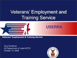Veterans' Employment and Training Service