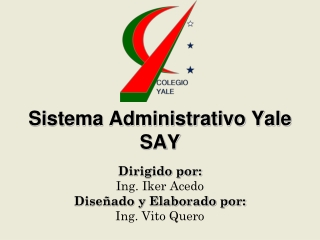 Billing Integrated System Yale School Venezuela
