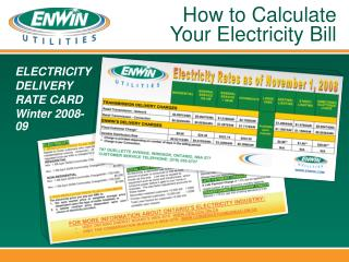 How to Calculate Your Electricity Bill