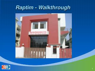 Raptim - Walkthrough