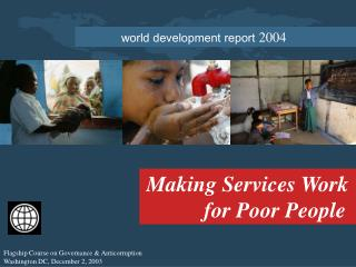 world development report  2004