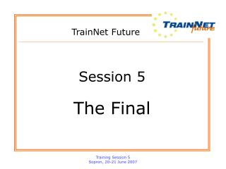 TrainNet Future