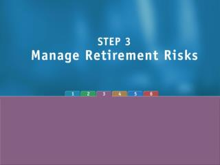Post-Retirement Risks