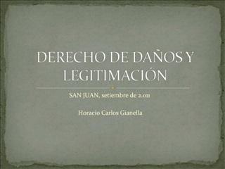 DERECHO DE DA OS Y LEGITIMACI N