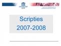 Scripties 2007-2008
