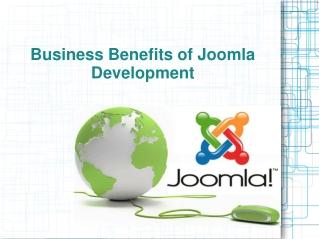 Business Benefits of Joomla Development