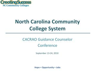 North Carolina Community College System