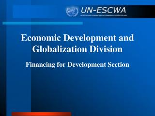 Economic Development and Globalization Division