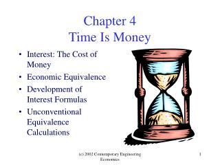Chapter 4 Time Is Money