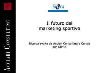 Il futuro del  marketing sportivo