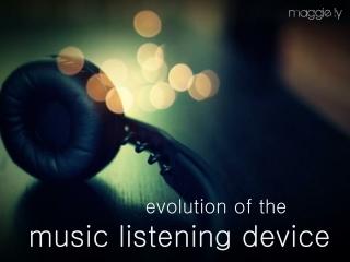 Pop Culture Music Listening Device