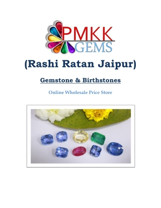 Rashi Ratan Gemstones Wholesale Online