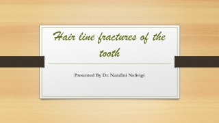Hair line fractures of the tooth   Best Dental Clinics in Bellandur, Bangalore