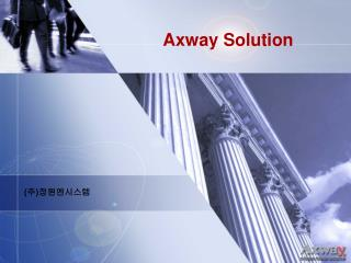 Axway Solution