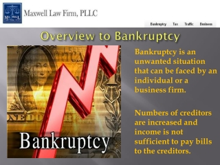Reason to hire an experience Bankruptcy Attorney NC