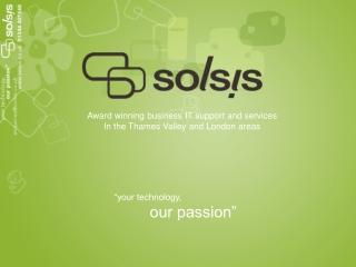 Solsis presentation