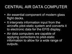 CENTRAL AIR DATA COMPUTER
