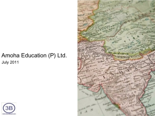 Amoha Education (P) Ltd. Company Profile 2011