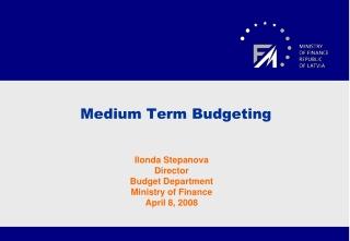 Medium Term Budgeting