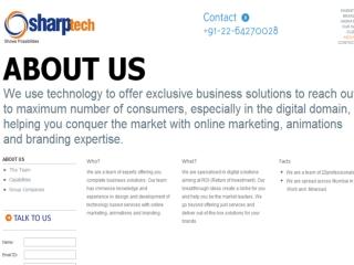 Sharptech is the Best Website Designer Mumbai