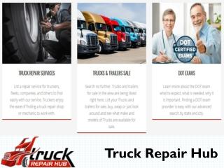 Truck Repair Hub for truck repair shops