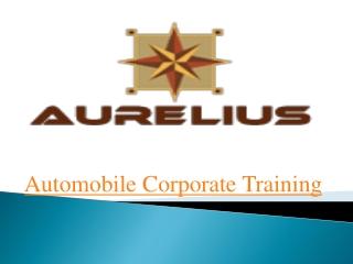Automobile corporate training