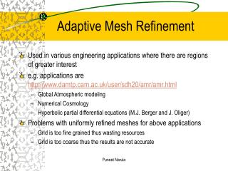 Adaptive Mesh Refinement