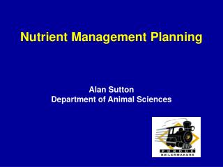 Nutrient Management Planning