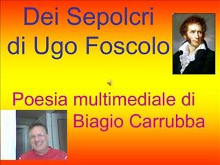 Dei Sepolcri  di Ugo Foscolo