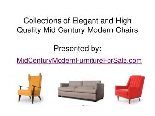 Best Online Furniture of Mid Century Modern Chairs