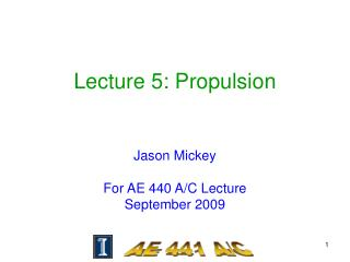 Lecture 5: Propulsion