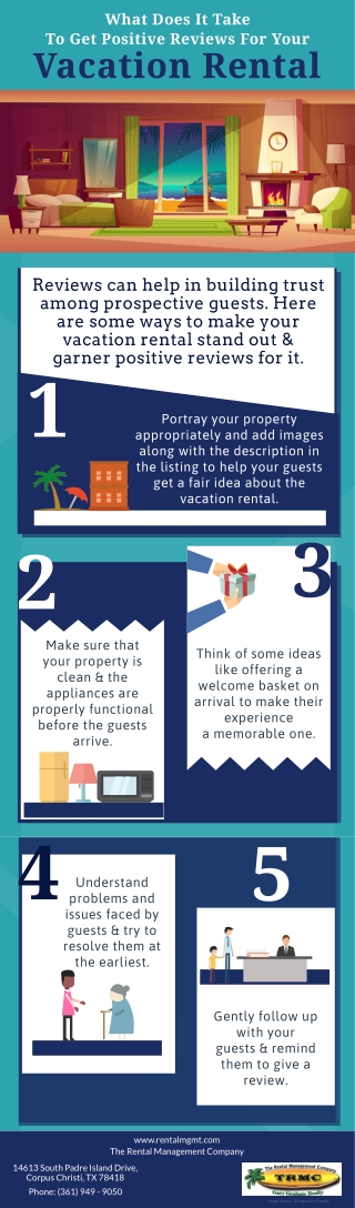 What Does It Take To Get Positive Reviews For Your Vacation Rental