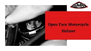 Open Face Motorcycle Helmets   SMK Helmets