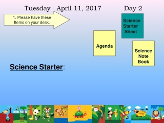 Tuesday April 11, 2017 Day 2