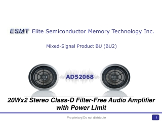Mixed-Signal Product BU (BU2)