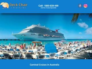 Carnival Cruises in Australia