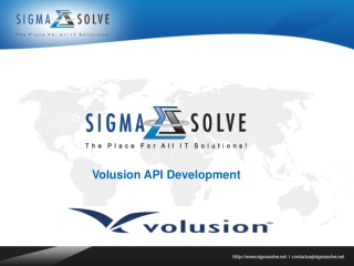 Volusion API Development | Volusion API Integration | Volusi
