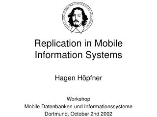 Replication in Mobile Information Systems