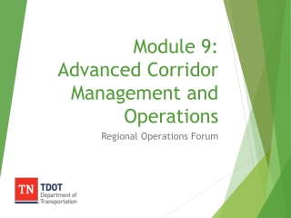 ICMS Concept of Operations for a Generic Corridor