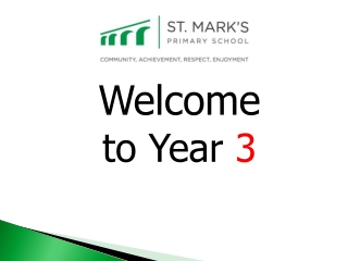 Welcome to Year 3
