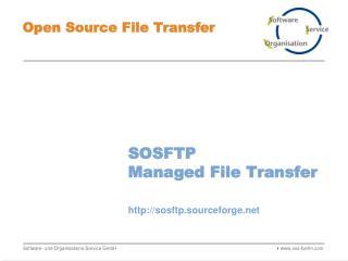 SOSFTP Managed File Transfer