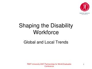 Shaping the Disability Workforce