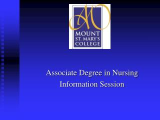 Associate Degree in Nursing Information Session