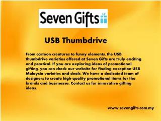 Sevengifts.com.my - Usb thumbdrive