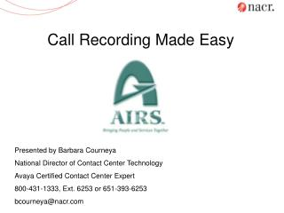 Call Recording Made Easy
